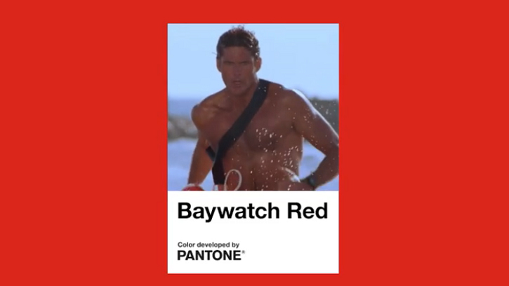 Baywatch Red: the birth of a new Pantone colour | Creative Bloq