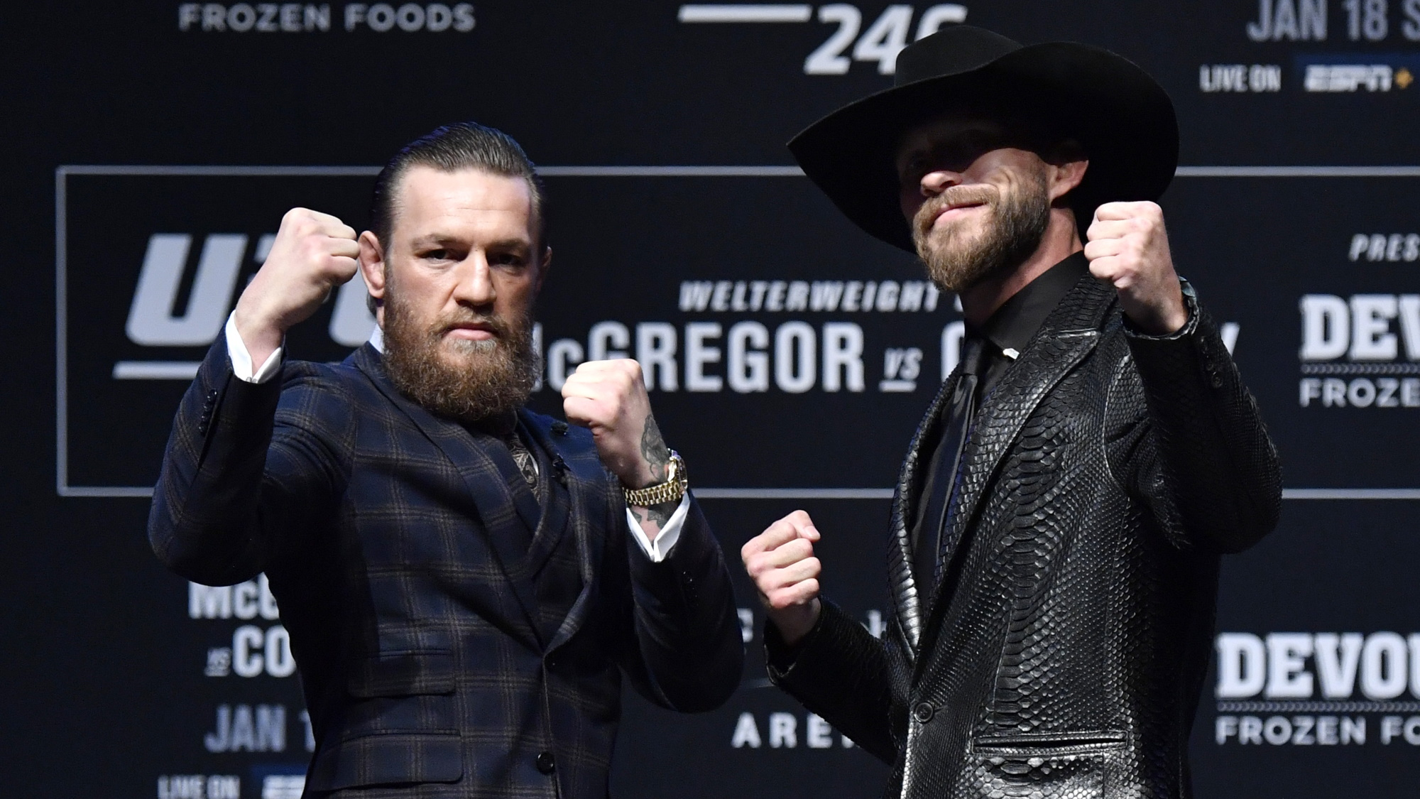How To Watch Ufc 246 Live Stream Mcgregor Vs Cerrone From