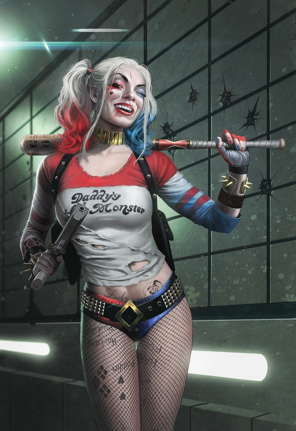 How To Draw Harley Quinn Creative Bloq
