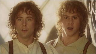 Hobbits in The Lord of the Rings: The Return of the King