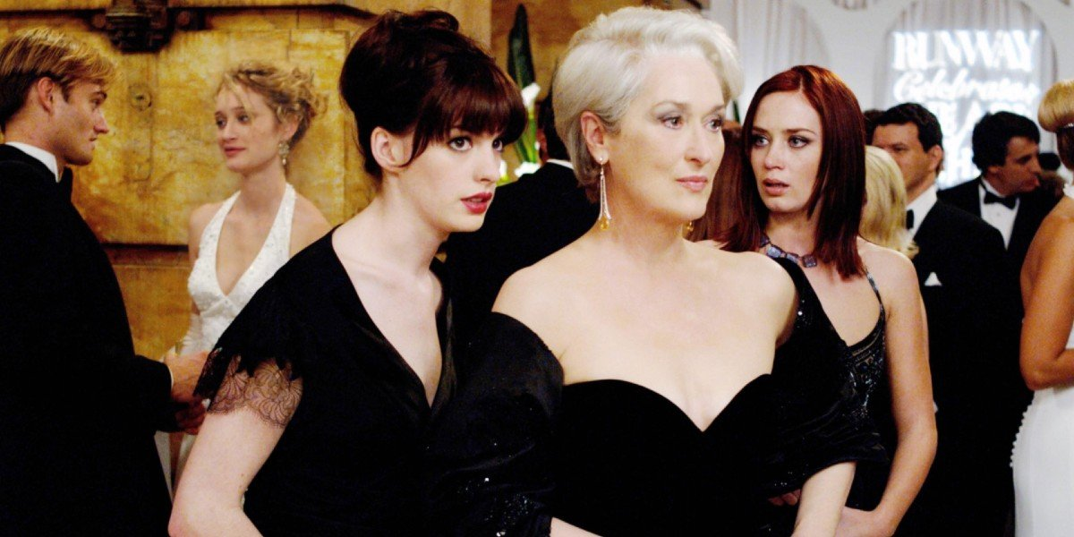 Anne Hathaway, Meryl Streep, Emily Blunt - The Devil Wears Prada