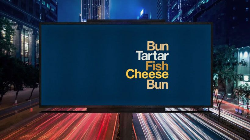 McDonald's ditches its brand in new type-only ads