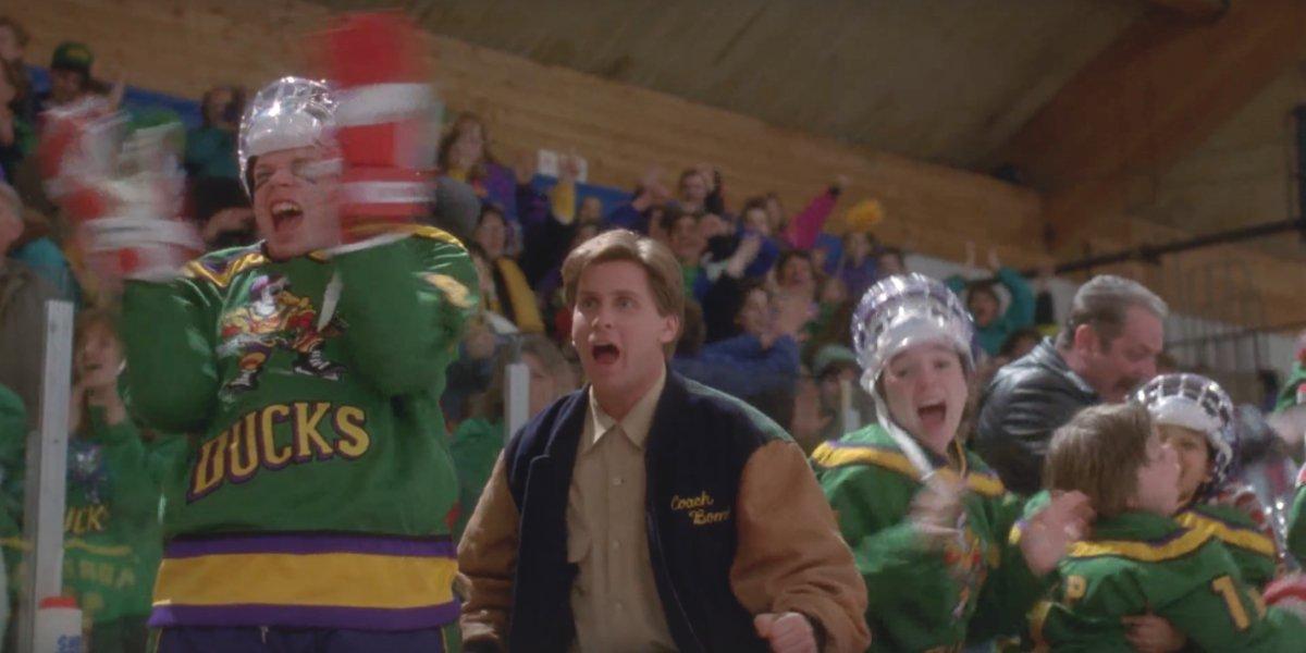 Emilio Estevez in The Mighty Ducks