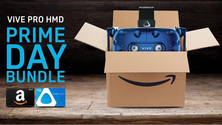 efcf02192bd8 Buy an HTC Vive Pro at Amazon and get  100 worth of free gift cards ...