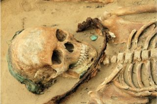 Burial gifts, demonic burials, poland