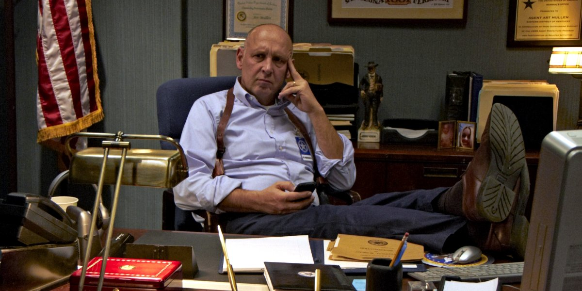 Nick Searcy on Justified