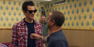 Johnny Knoxville in Jackass 4.