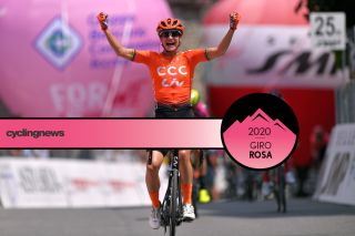 Marianne Vos won four stage as the points jersey at the 2019 Giro Rosa