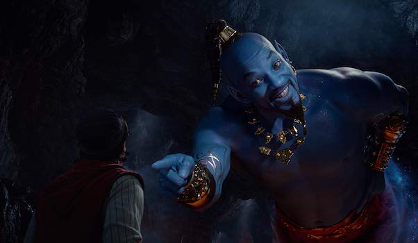 """Will Smith as Blue Genie """"Friend Like Me"""" in 2019 live-action Aladdin"""
