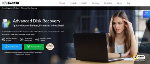 Systweak Advanced Disk Recovery Review