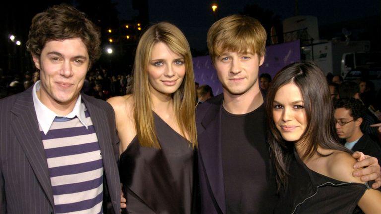 """Adam Brody, Mischa Barton, Benjamin McKenzie, and Rachel Bilson of """"The O.C."""""""