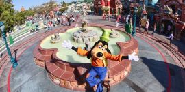 No Big Deal, Just Disneyland Gawkers Watching Part Of Toontown Get Demolished For New Attraction