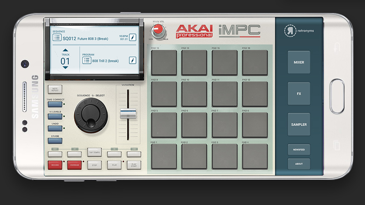 Akai's iMPC comes to Android… but only on Samsung's Galaxy devices
