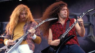 Dave Mustaine and Marty Friedman
