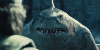 King Shark with Ratcatcher 2
