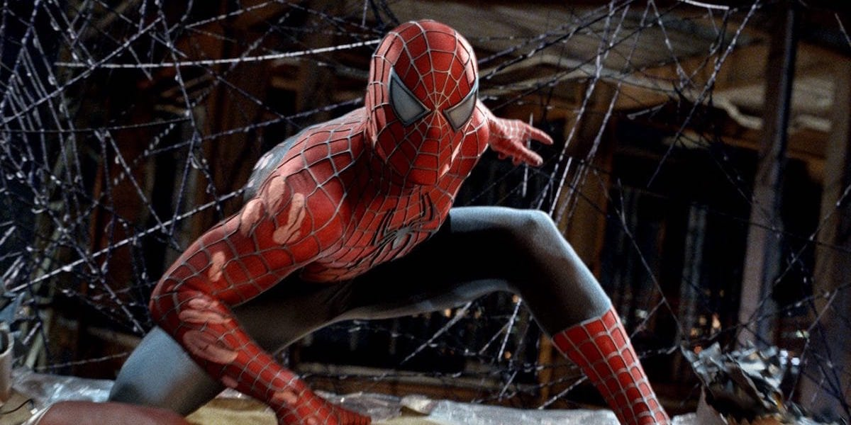 Spider-Man during the original Sam Raimi trilogy