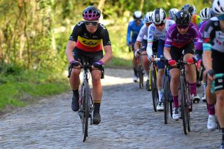 Lotte Kopecky (Liv Racing) at the Tour of Flanders