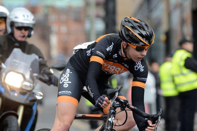 Joanna Rowsell, British road race national championships 2013