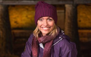 Michaela Strachanon return of Winterwatch - 'The worst thing that can happen is it goes wrong and I look a bit of a twit!'
