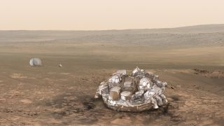 Schiaparelli Spacecraft Set For Mars Landing