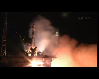 Expedition 36 Launches on Soyuz Rocket