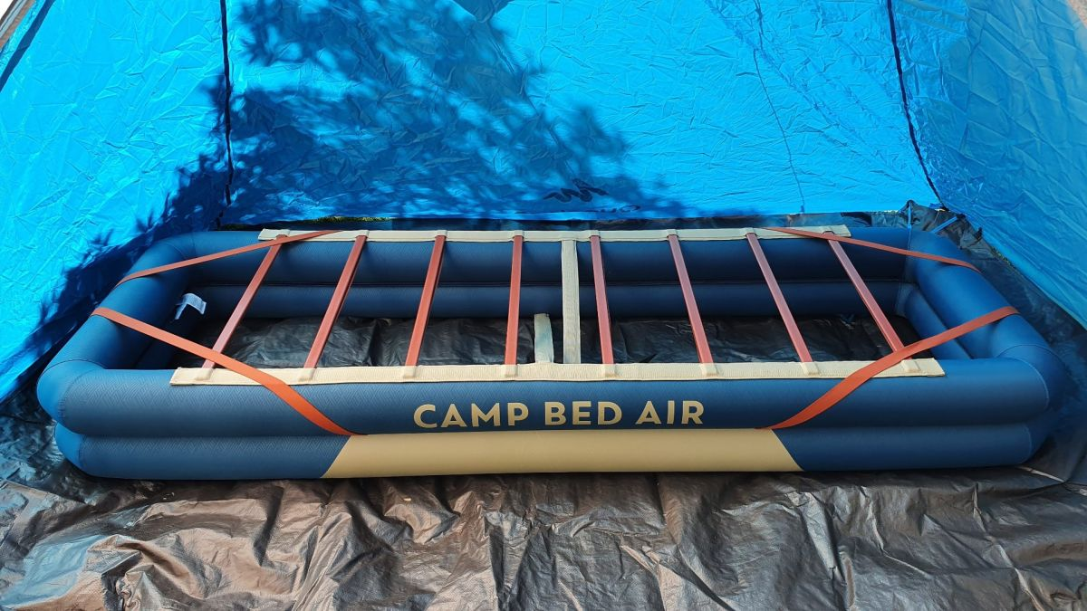 Decathlon Quechua Inflatable Camp Bed Base review: for when only luxury is good enough