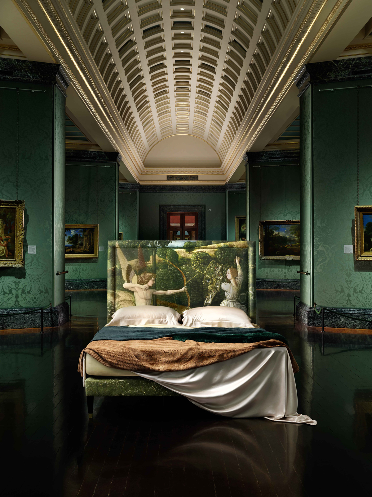 Savoir Beds & National Gallery launch range inspired by famous paintings