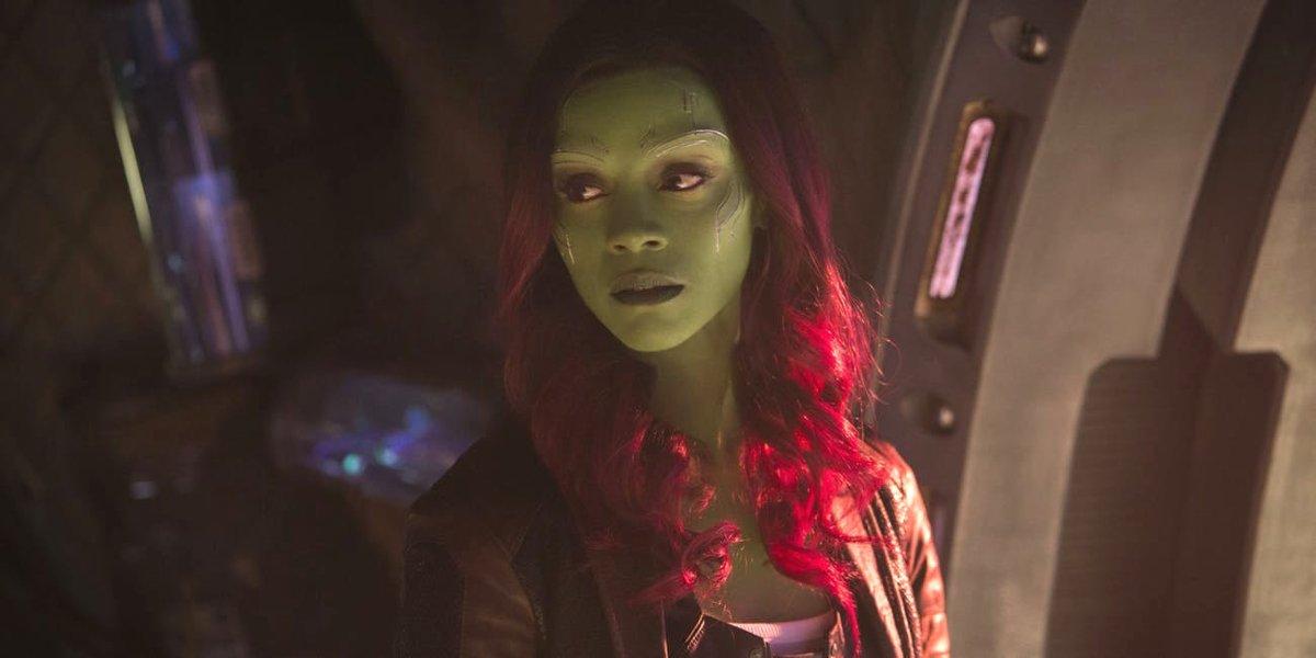 Zoe Saldana in Avengers: Infinity War
