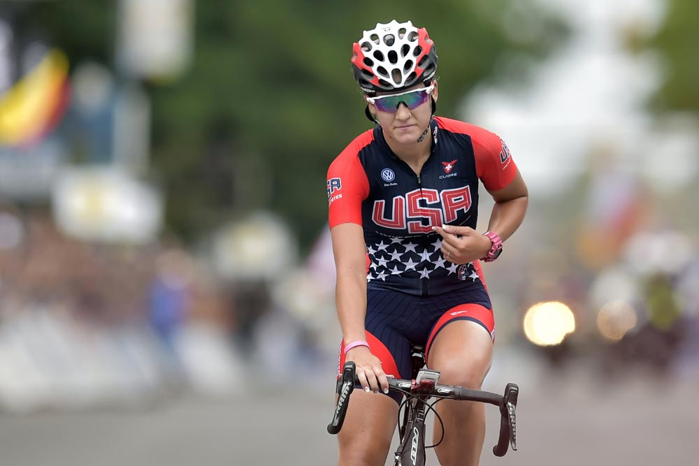 Chloe Dygert Does The Double Wins World Champs Junior