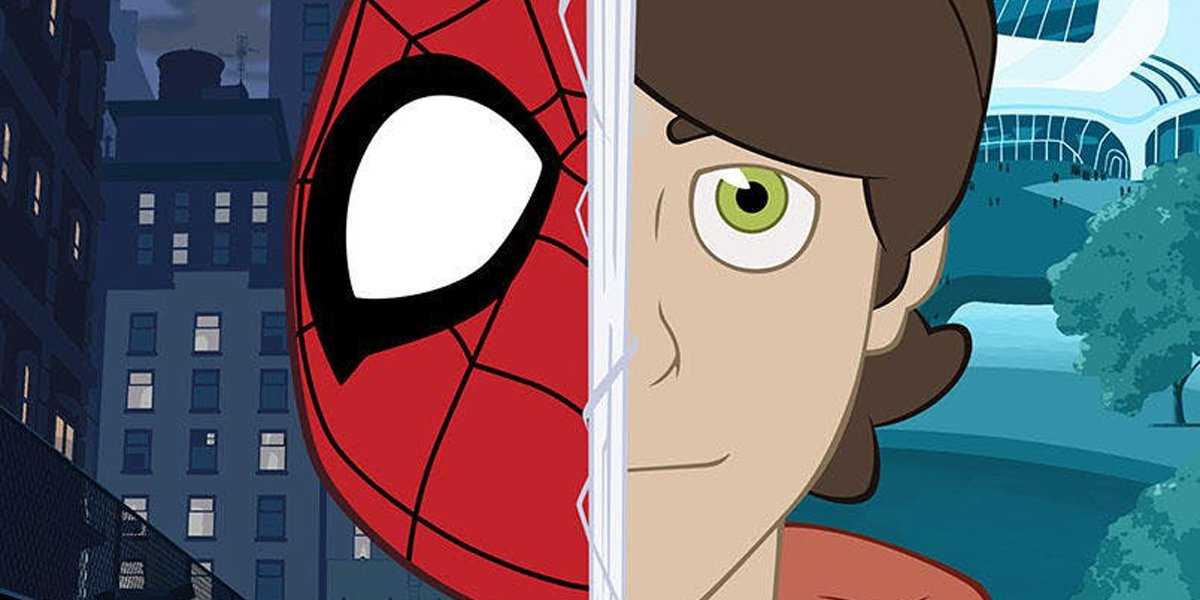 Marvel's Spider-Man animated poster