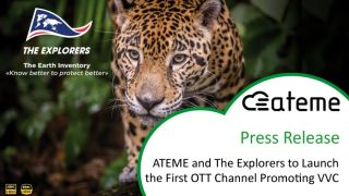 ATEME VVC OTT channel
