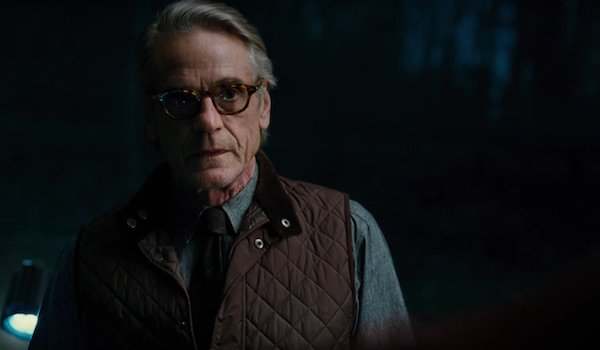 Jeremy Irons as Alfred Pennyworth in Justice League