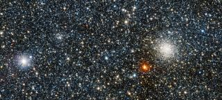 The European VISTA telescope discovered two new globular clusters, which are groups of 100,000 or more ancient stars.