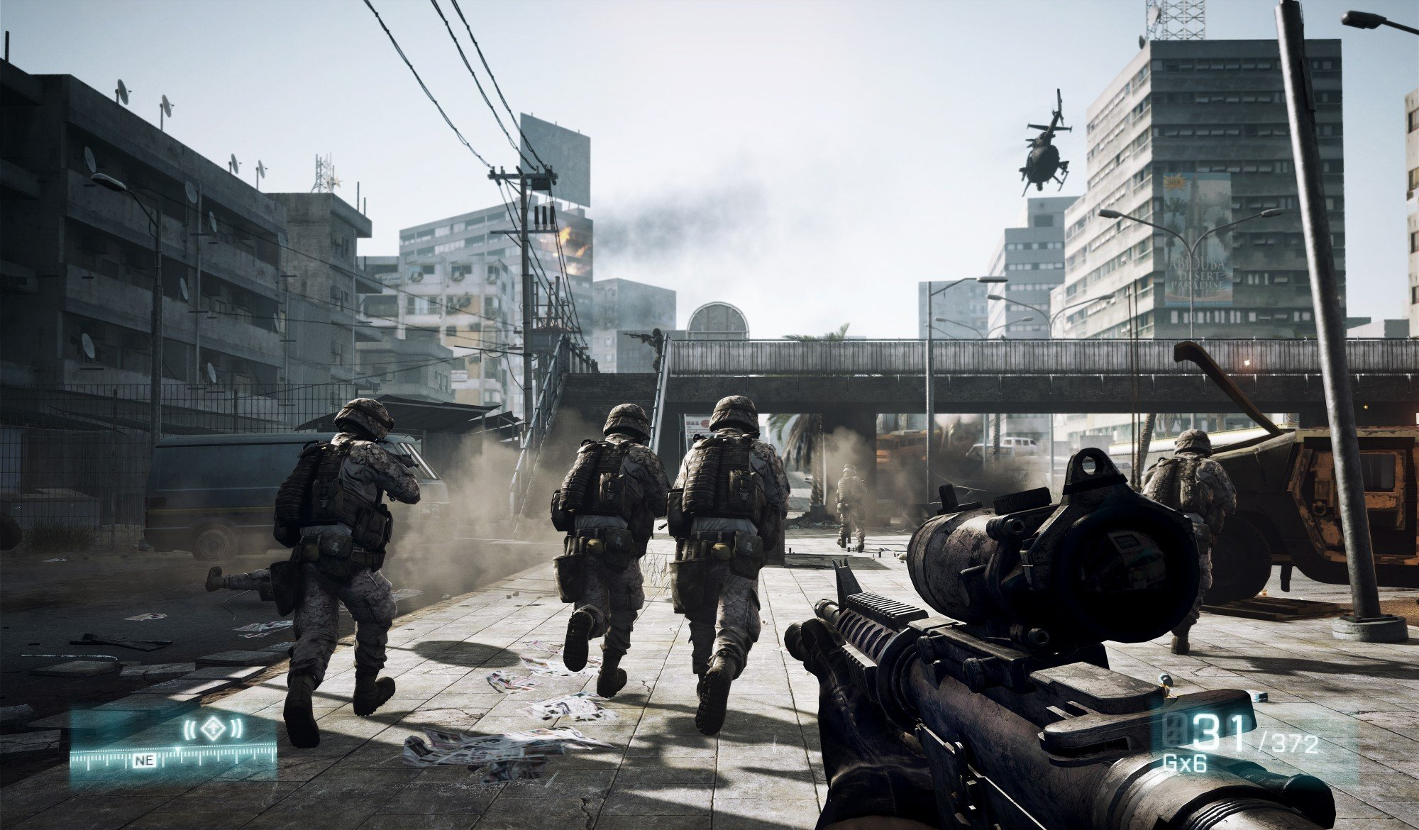 Battlefield 3 HD Concept Art And In-Game Screenshots Released #16613