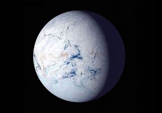 About 700 million years ago, during the Cryogenian glaciation, runaway glaciers made Earth look like a snowball.