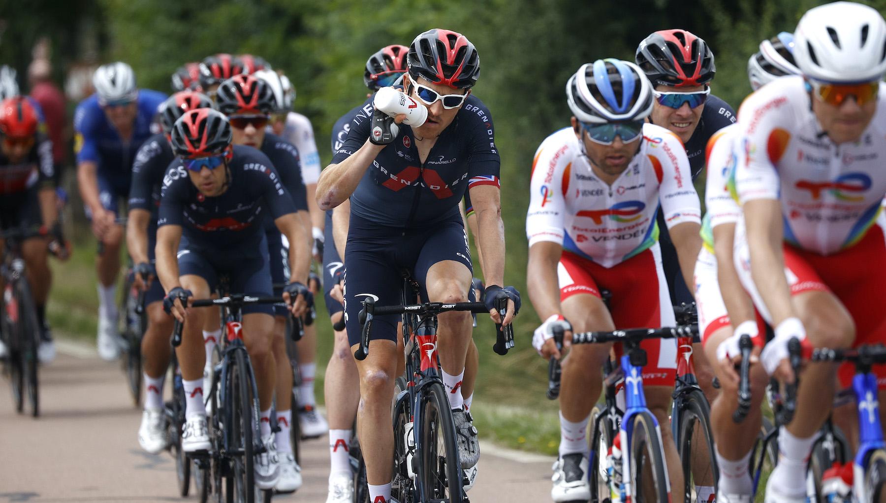 Geraint Thomas on stage seven of the Tour de France 2021