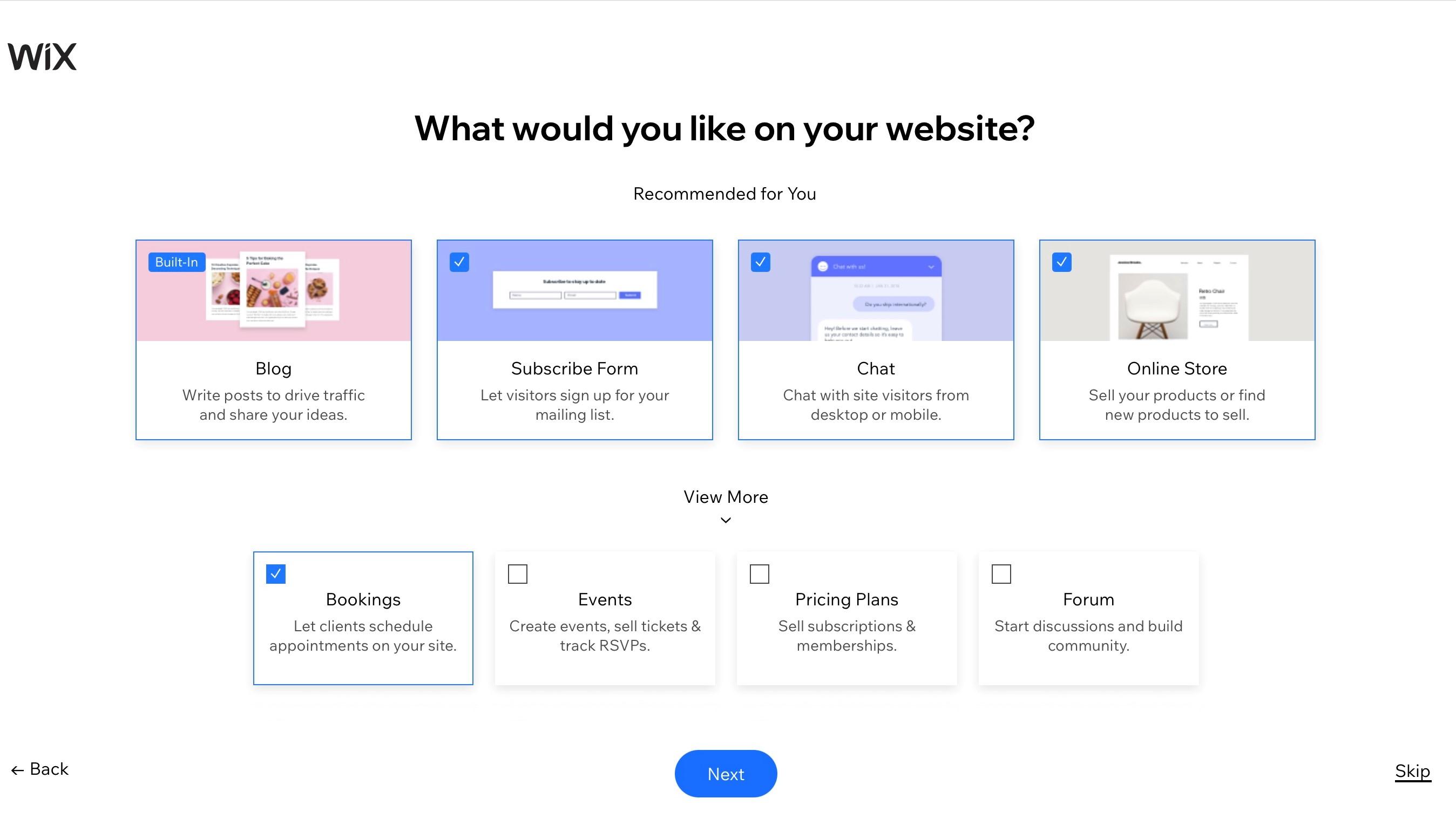 Build a Site