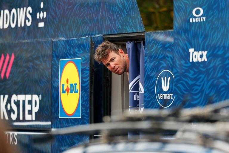 Mark Cavendish at the 2021 Tour of Britain