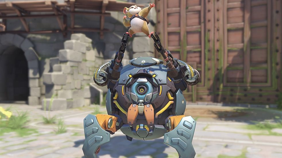 Overwatch's new hamster hero Wrecking Ball goes live next