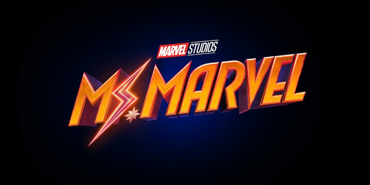 The logo for the upcoming series Ms. Marvel