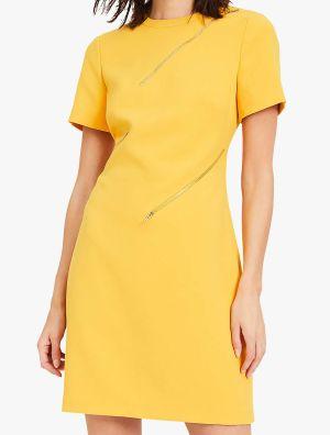 kate garraway yellow dress today