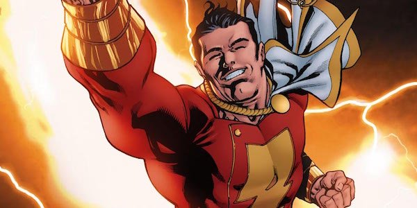 Captain Marvel Shazam costume