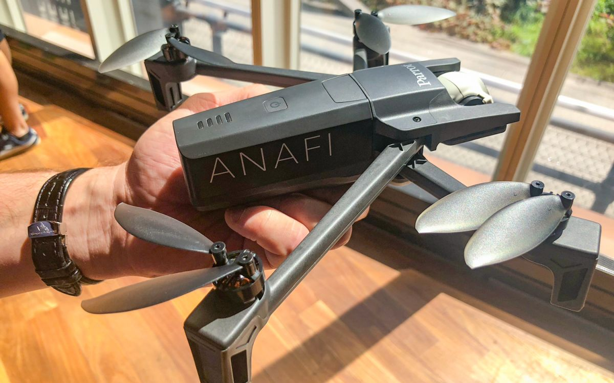 Parrot's Anafi Drone Takes on the DJI Mavic Air | Tom's Guide