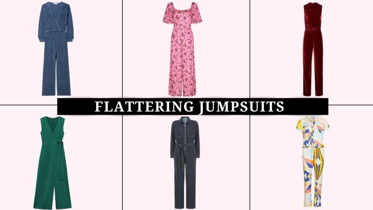 Flattering jumpsuits collage