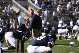 Penn State coach Joe Paterno lost his job over a child abuse scandal.