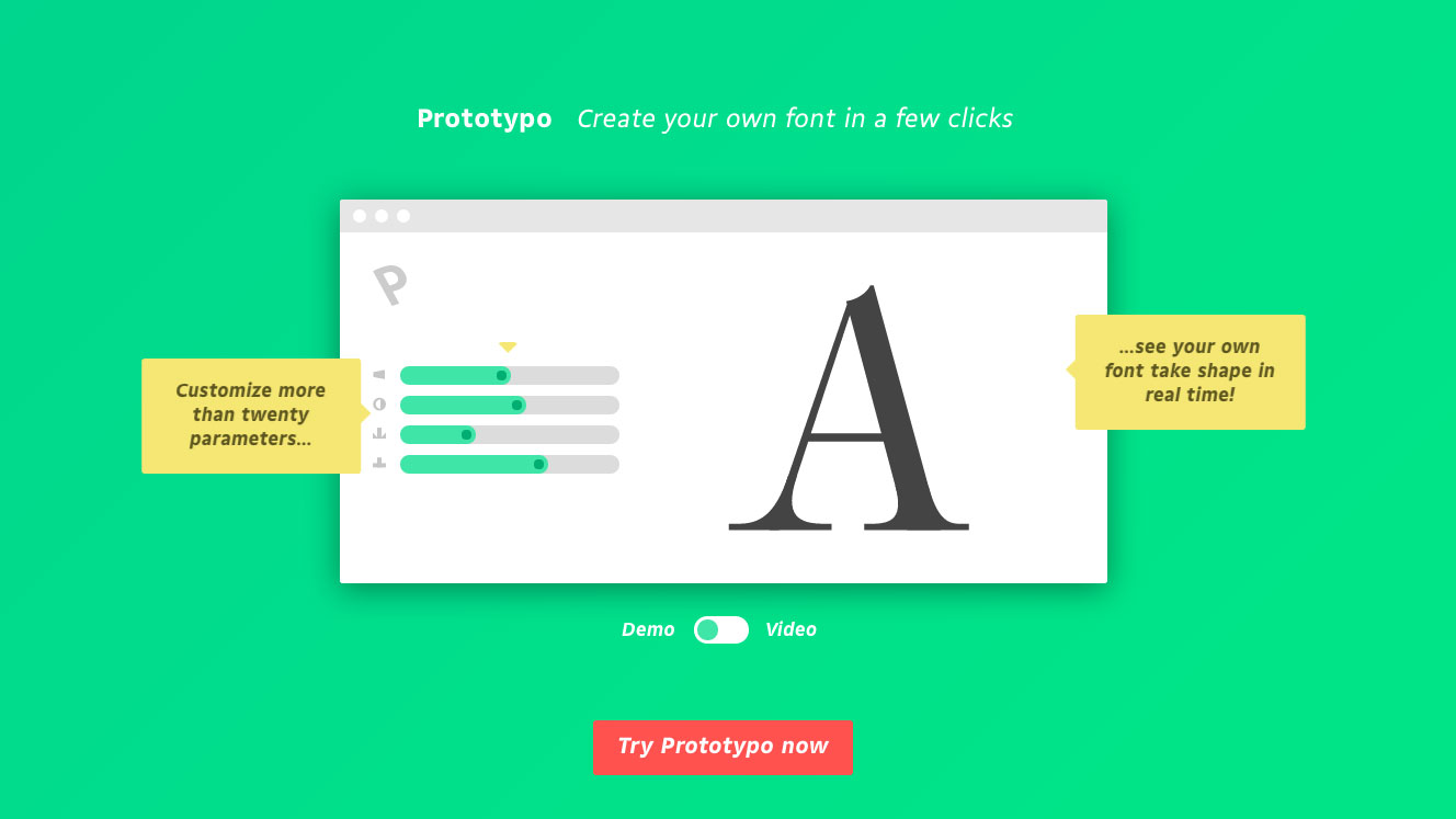 Revised editing tool promises to revolutionise font creation
