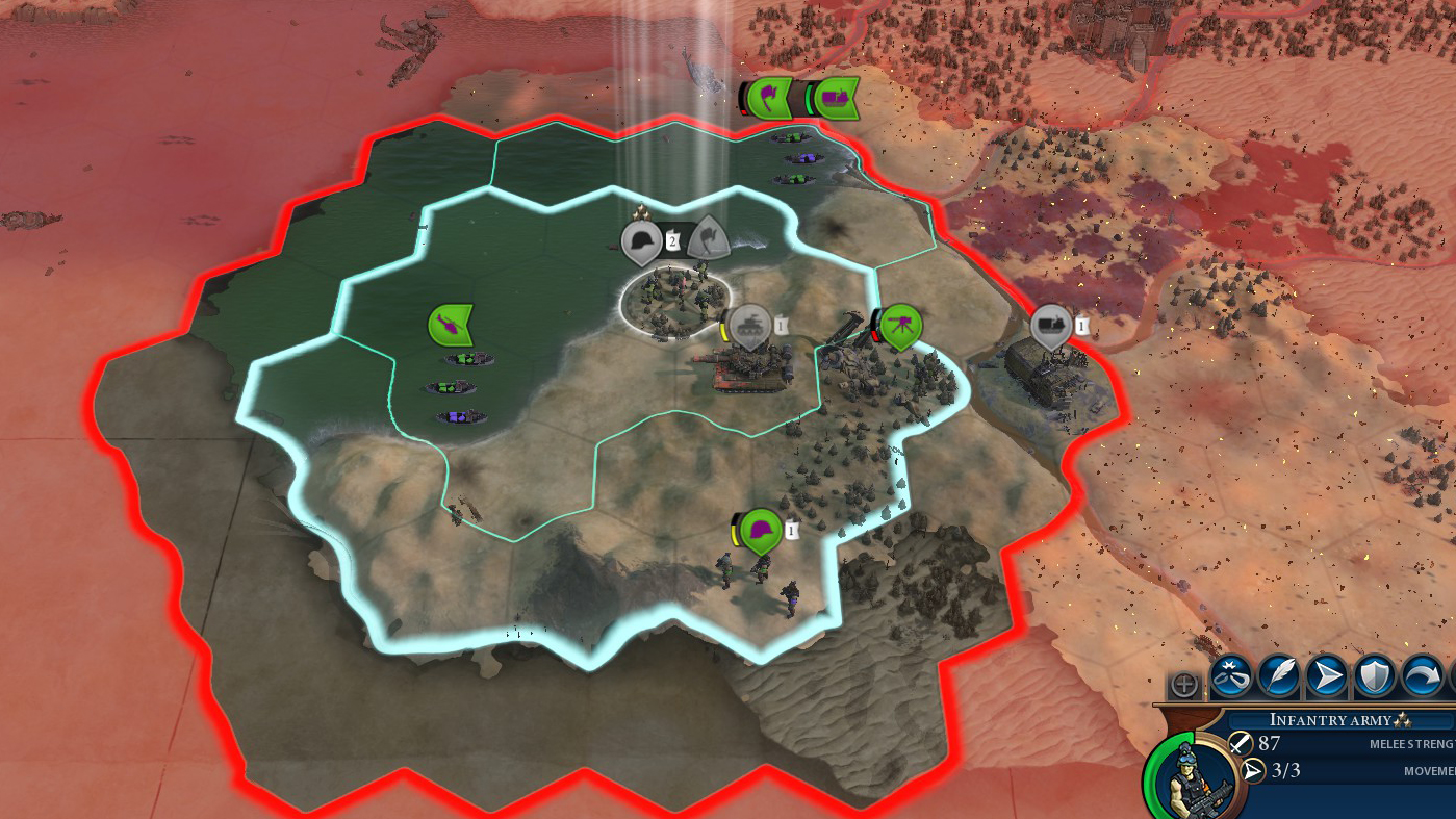 Civilization 6 launches a battle royale mode called Red