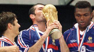 Zinedine Zidane 1998 trophy