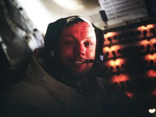 Neil Armstrong photo after his historic moonwalk