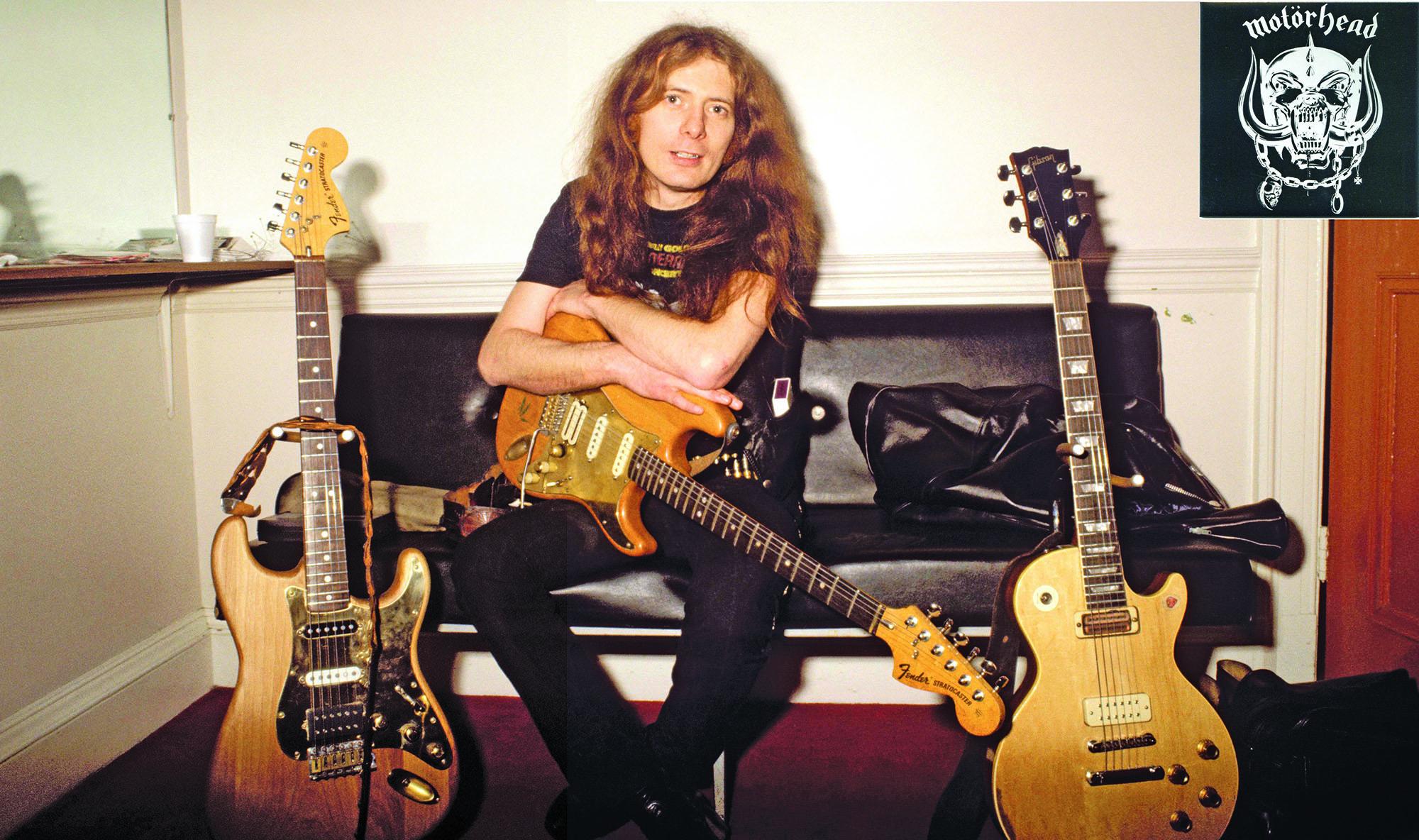 Former Motorhead Guitarist